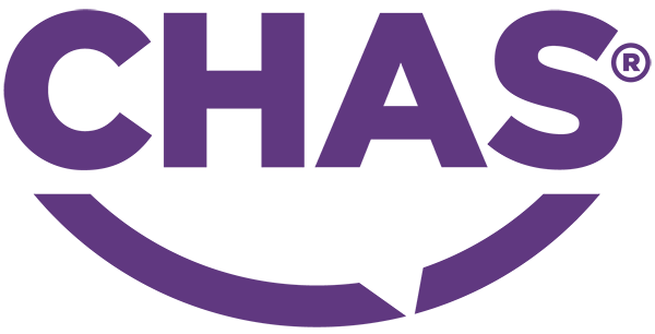 CHAS Health and safety logo